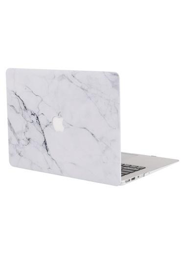 Mcstorey MacBook Pro Retina A1502 A1425 13 inç Kılıf Kapak Koruyucu Hard ıncase Mermer 11-40-1620 Renksiz